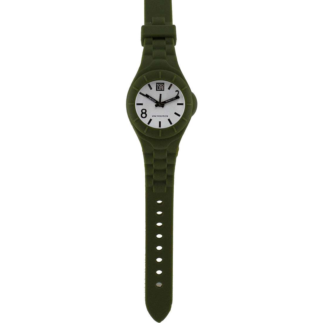 watch only time unisex Too late Mash-up M002B