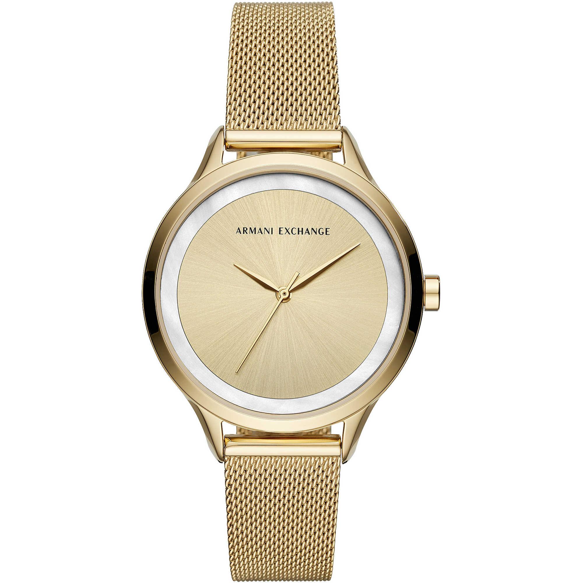 390f3427d4b watch only time woman Armani Exchange Harper AX5601 only time Armani ...