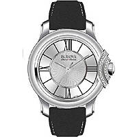 watch only time woman Bulova Accu Swiss Bellecombe 63R142