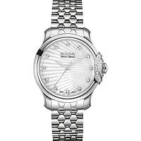 watch only time woman Bulova Accu Swiss Bellecombe 63R147