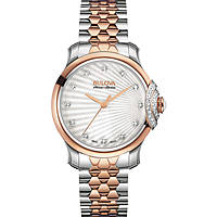 watch only time woman Bulova Accu Swiss Bellecombe 65R164