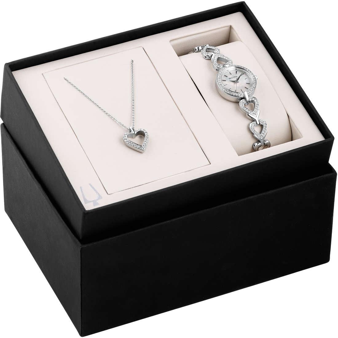 watch only time woman Bulova Box Set 96X136