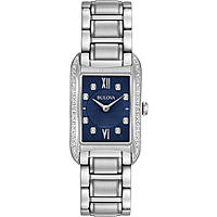 watch only time woman Bulova Curv Diamonds 96R211