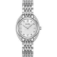 watch only time woman Bulova Curv Diamonds 96R212