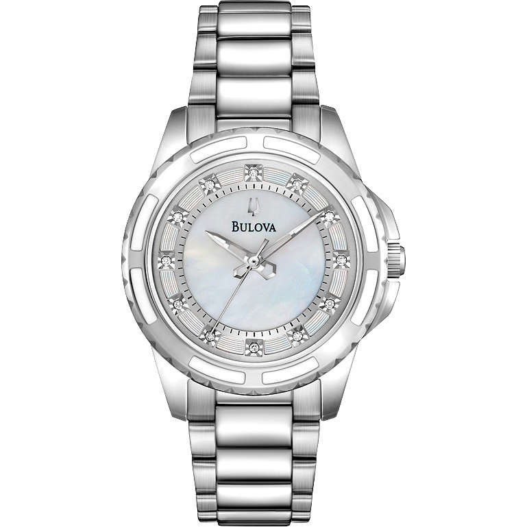 watch only time woman Bulova Diamanti 96P144