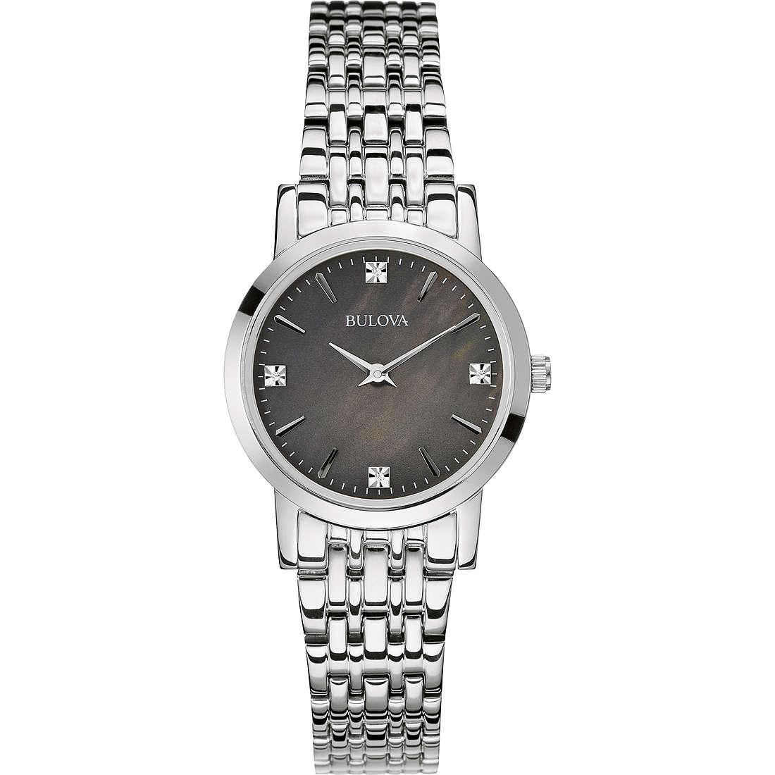 watch only time woman Bulova Diamanti 96P148