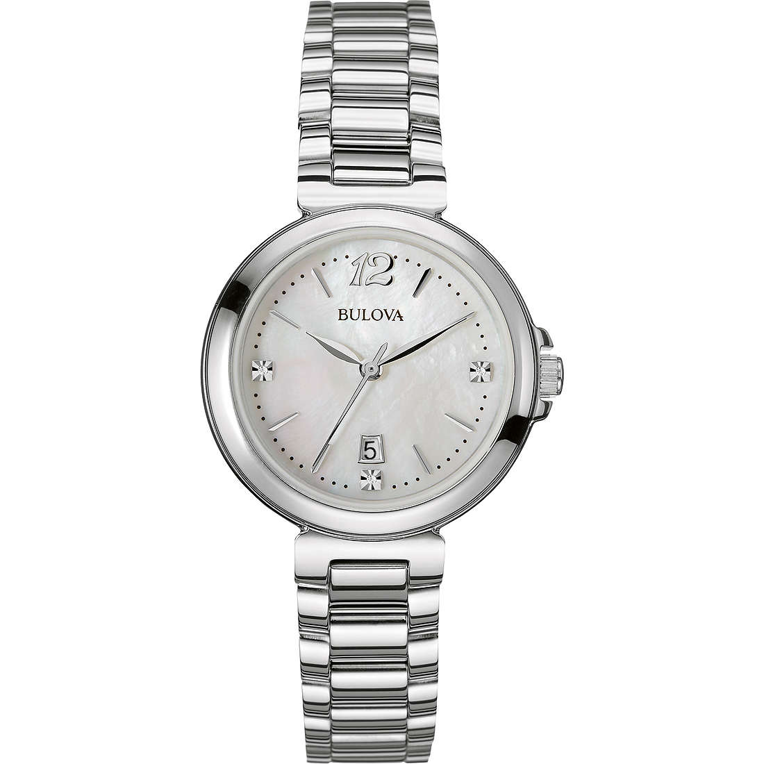 watch only time woman Bulova Diamanti 96P149