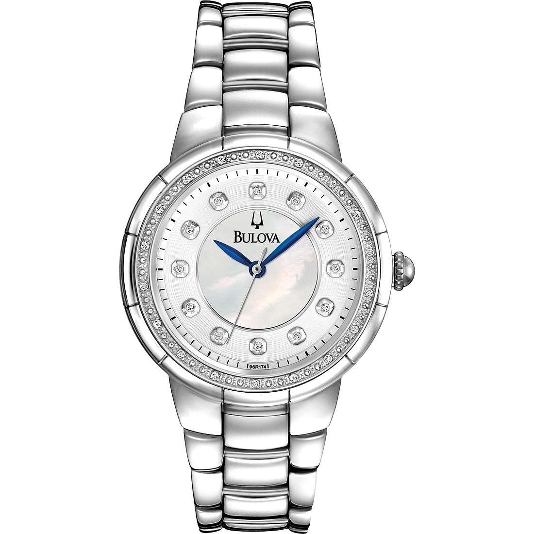 watch only time woman Bulova Diamanti 96R174