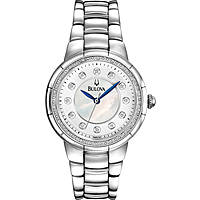 watch only time woman Bulova Diamanti 96R174