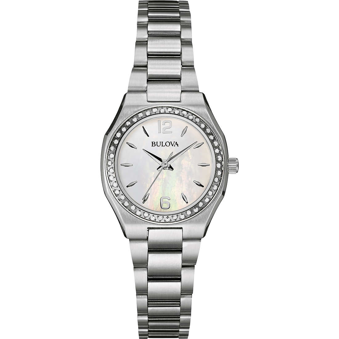 watch only time woman Bulova Diamanti 96R199