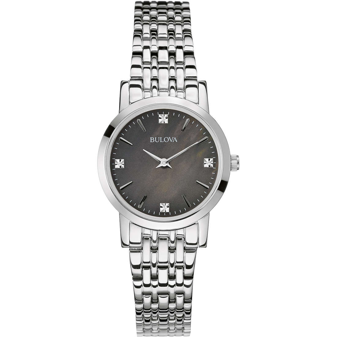 watch only time woman Bulova Diamanti 96S148