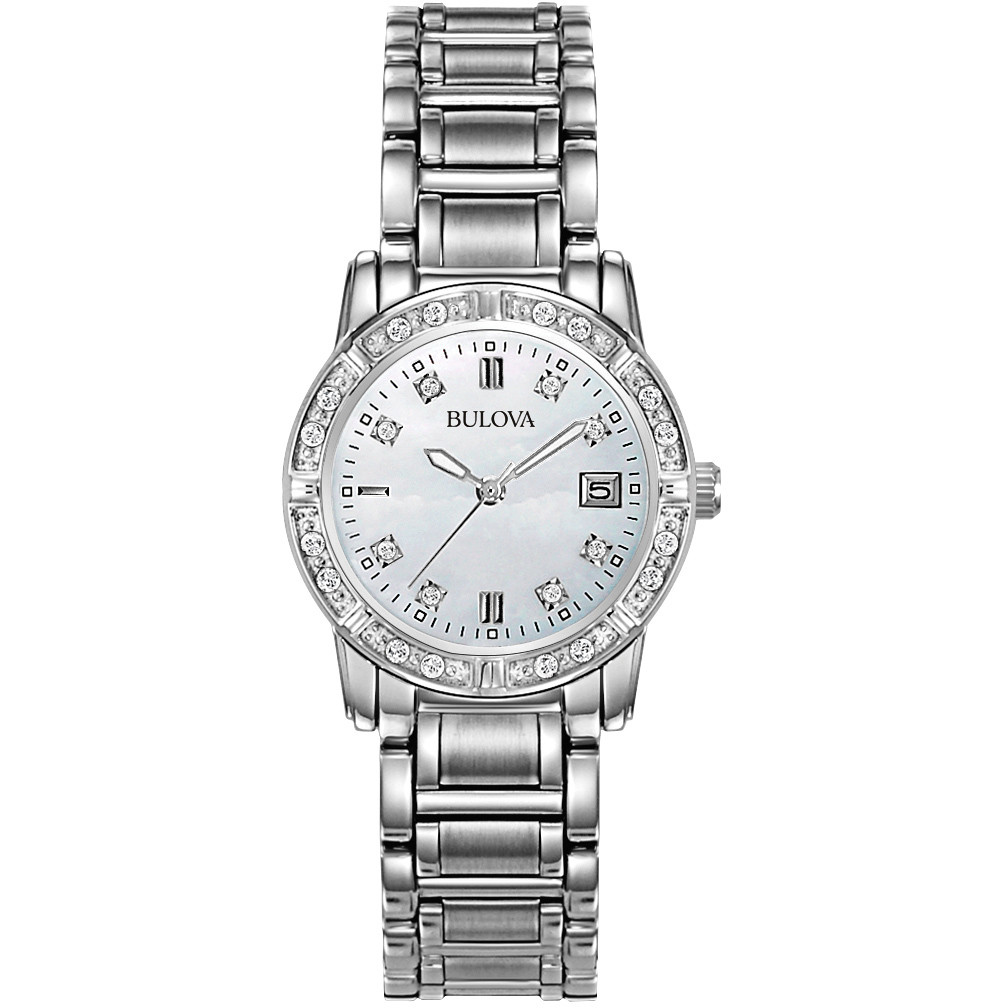 watch only time woman Bulova Diamanti 96W105