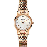 watch only time woman Bulova Diamanti 97P106