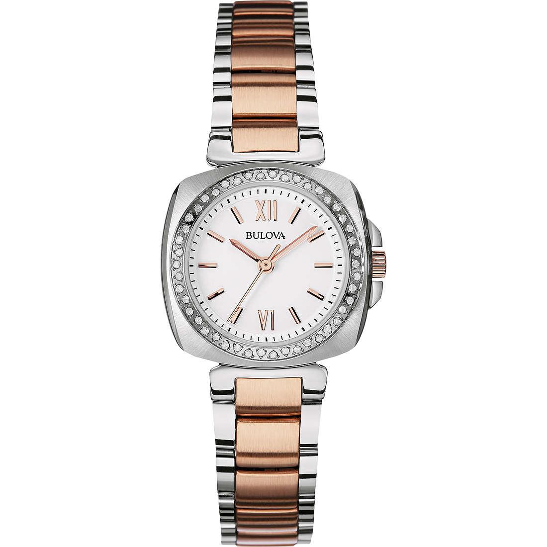 watch only time woman Bulova Diamanti 98R206