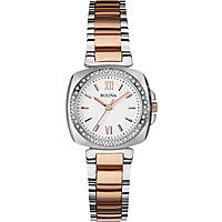 watch only time woman Bulova Diamanti 98R206