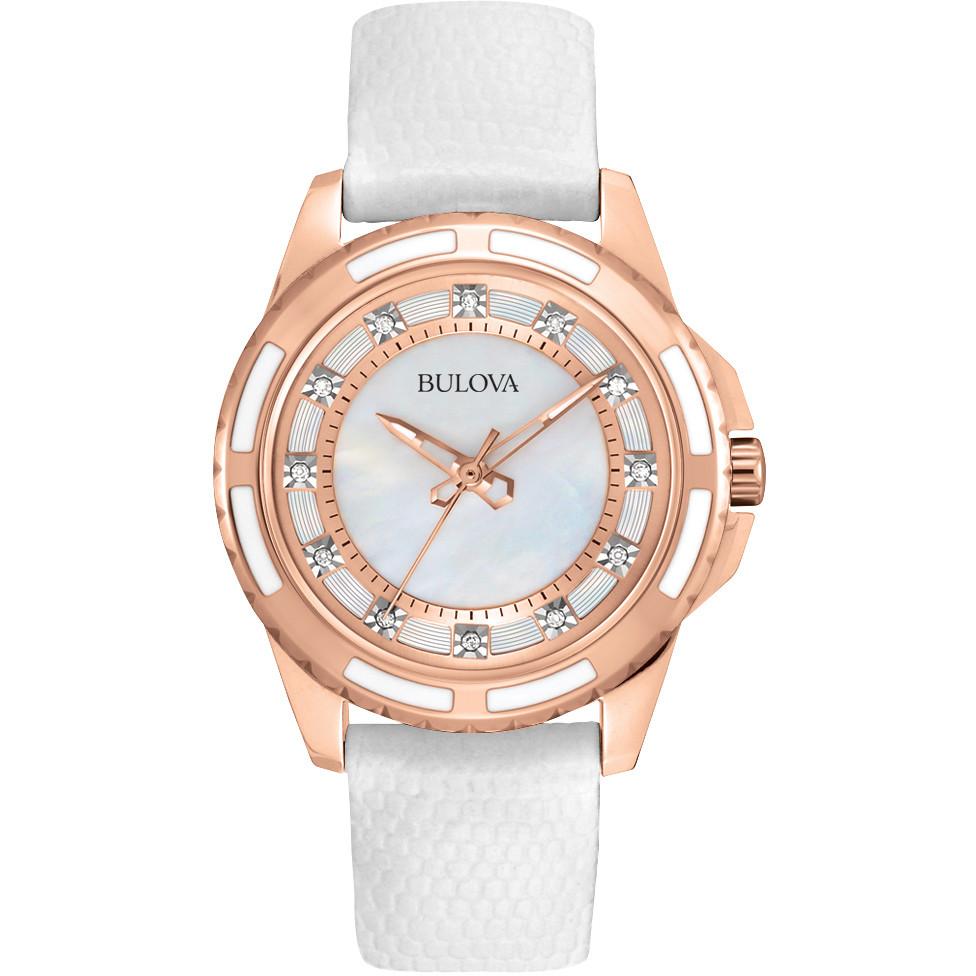 watch only time woman Bulova Diamanti 98S119