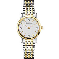 watch only time woman Bulova Diamanti Duets 98S115