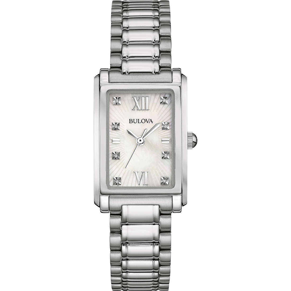 watch only time woman Bulova Diamond Gallery 96P157