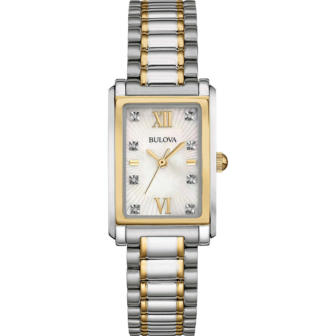 watch only time woman Bulova Diamond Gallery 98P144