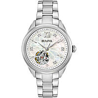watch only time woman Bulova Diamonds 96P181