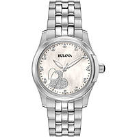 watch only time woman Bulova Diamonds 96P182