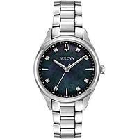 watch only time woman Bulova Diamonds 96P198