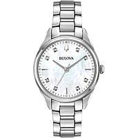 watch only time woman Bulova Diamonds 96P199