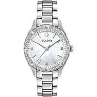 watch only time woman Bulova Diamonds 96R228