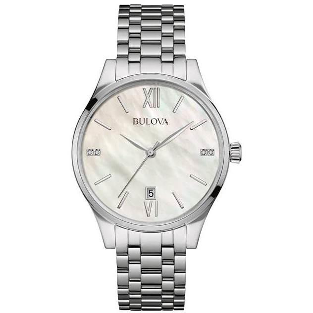 watch only time woman Bulova Diamonds 96S161