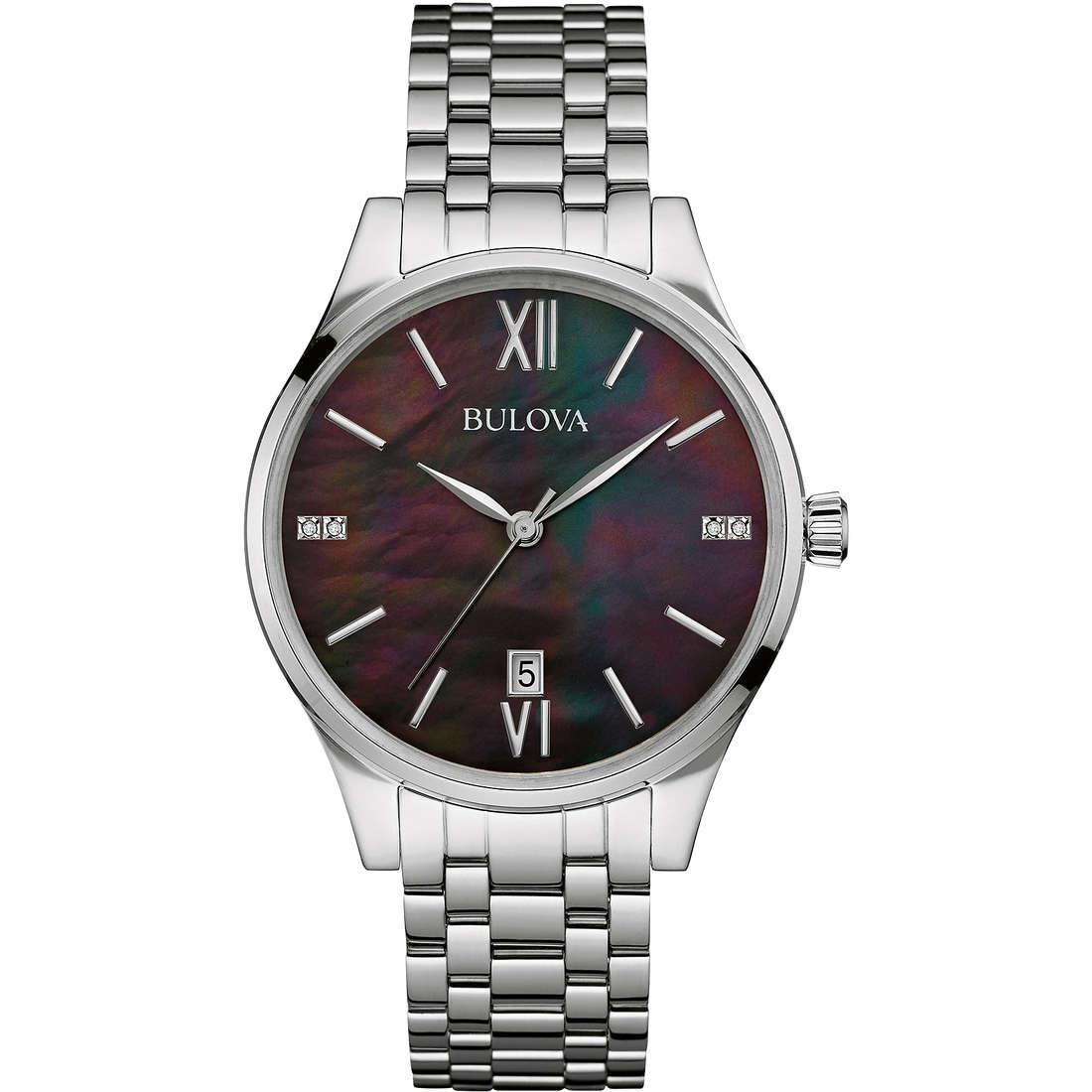 watch only time woman Bulova Diamonds 96S162
