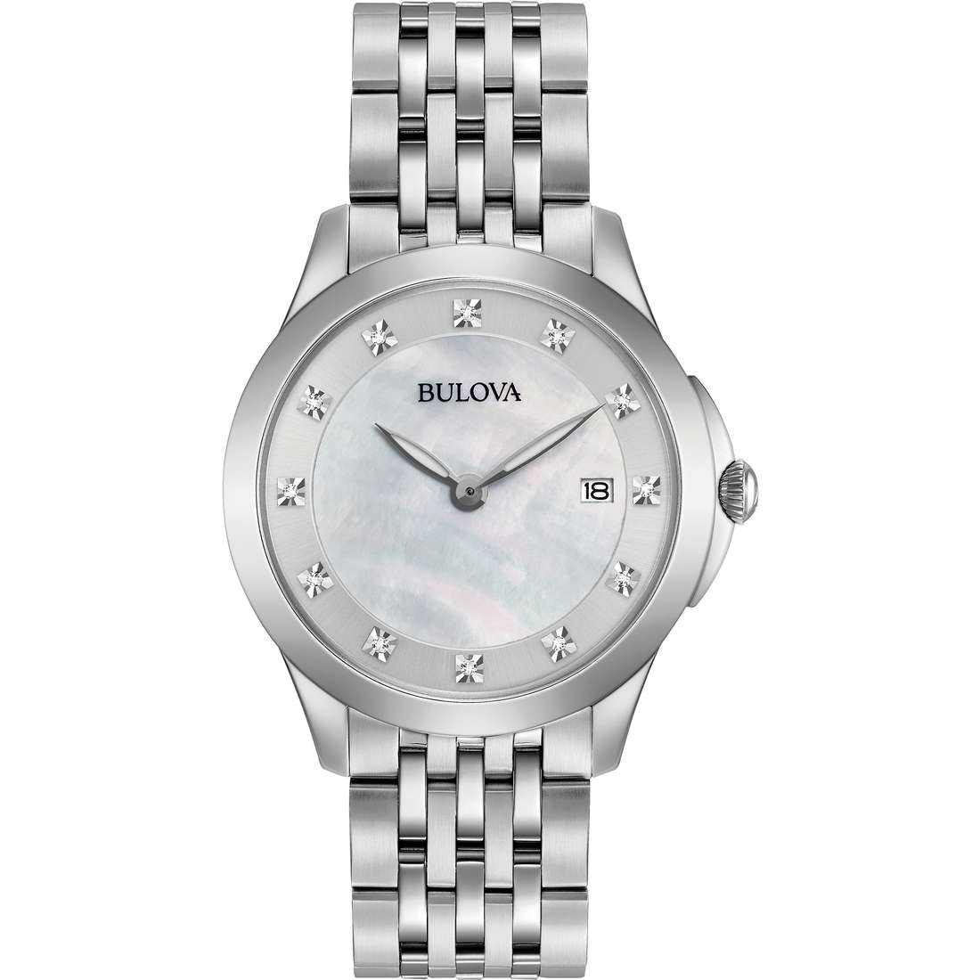 watch only time woman Bulova Diamonds 96S174