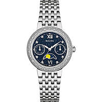 watch only time woman Bulova Diamonds 96W210