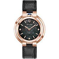 watch only time woman Bulova Diamonds 97P139