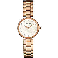 watch only time woman Bulova Diamonds 97S111