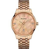 watch only time woman Bulova Diamonds 97S113