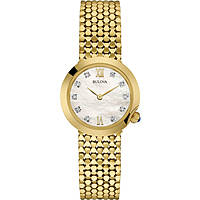 watch only time woman Bulova Diamonds 97S114