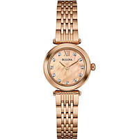 watch only time woman Bulova Diamonds 97S116