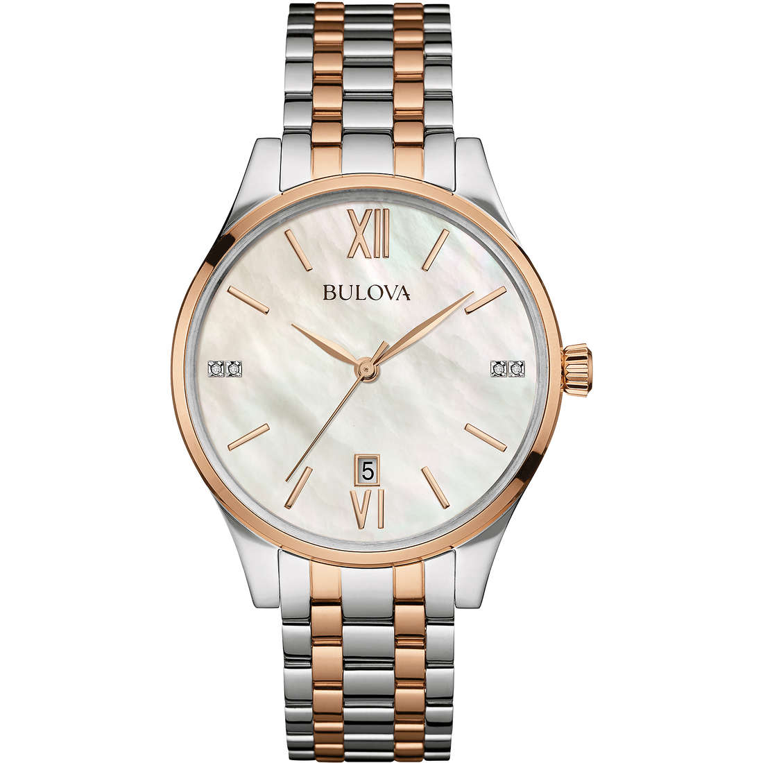 watch only time woman Bulova Diamonds 98S150