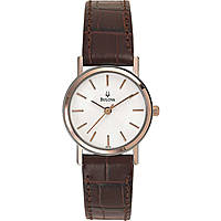 watch only time woman Bulova Dress Duets 98V31