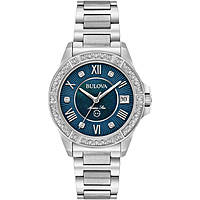 watch only time woman Bulova Marine Star Diamond 96R215