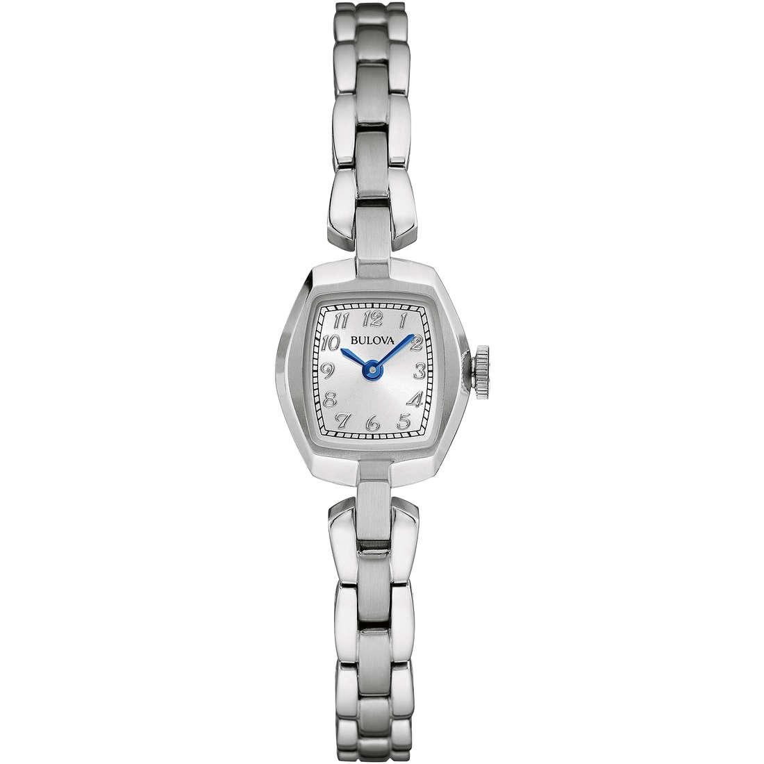 watch only time woman Bulova Vintage 96L221