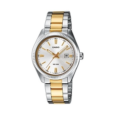watch only time woman Casio CASIO COLLECTION LTP-1302SG-7AVEF