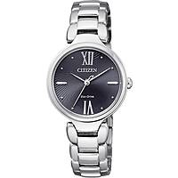 watch only time woman Citizen Eco-Drive EM0020-52E