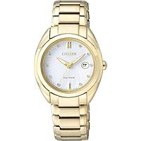 watch only time woman Citizen Eco-Drive EM0313-54A