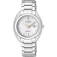 watch only time woman Citizen Eco-Drive EW2250-59A