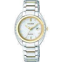 watch only time woman Citizen Eco-Drive EW2254-58A