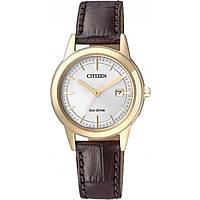 watch only time woman Citizen Eco-Drive FE1083-02A