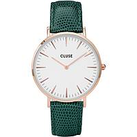 watch only time woman Cluse La Bohème CL18038