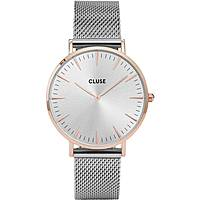 watch only time woman Cluse La Bohème CL18116