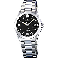 watch only time woman Festina Acero Clasico F16377/4